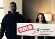 Congrats to Datarnia G. on the sale of their house with #TeamGeorgeWeeks & Chris Smith! #MotivtionMonday #Sold
