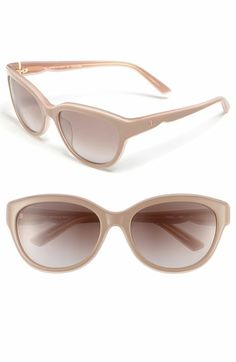 "Valentino - 57mm "" Retro "" Sunglasses "" Cat's-Eye "" kick , PLASTIC * NUDE ROSE *    http://shop.nordstrom.com/s/valentino-57mm-retro-sunglasses/3340953?origin=wishlist"