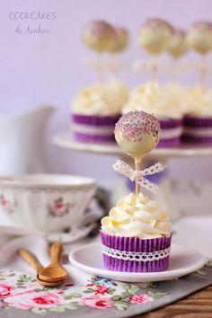 Cookcakes de Ainhoa: CUPCAKES DE CHOCOLATE Y AGUA DE AZAHAR