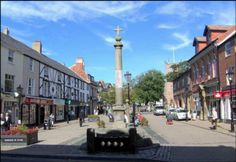 The Market Square of Poulton-le-Fylde - where I lived for my first 10 years....it will always be apart of my heart!