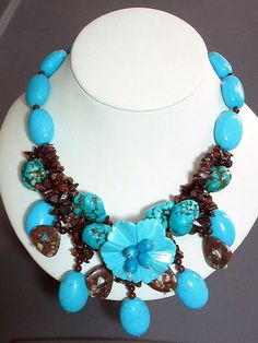 Handwoven Turquoise Necklace