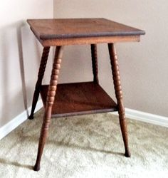 Antique Vintage Oval 6 Leg 1900 S Parlor Hall Side Table