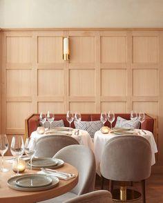 Thiou by Laura Gonzalez Back Bar Design, Pub Design, Deco Cafe, Restaurante Bar, Interior Design Business, Shop Interior Design, Bar Interior, Restaurant Interior Design, Resort Interior