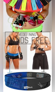 Yes You Can! With the sleek Flipbelt to hold your personal items while at the gym.