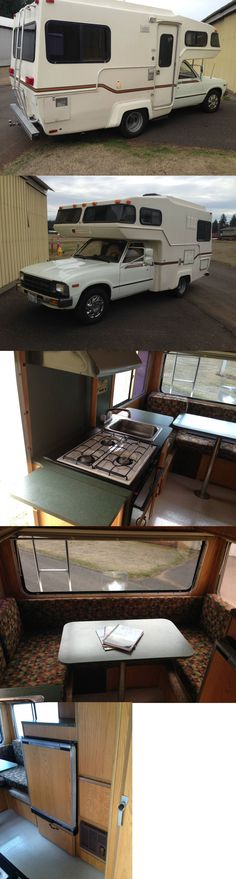 1982 Toyota Sunrader Bring Up, Motorhome, Toyota, Rv, Motor Homes, Camper, Mobile Home, Single Wide