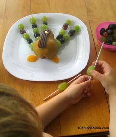 {Healthy #Snack} Fruitful #Turkey By JDaniel4's Mom