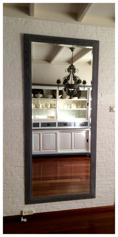 Old furniture restyled by www. Old Furniture, Oversized Mirror, Doors, Home Decor, Puertas, Interior Design, Home Interior Design, Home Decoration, Doorway