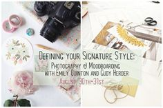 Photography & Moodboarding Workshop in London: NEW DATE!