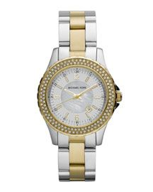 Michael Kors - Watch, Gold & Silver