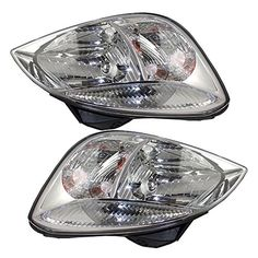 Driver and Passenger Headlights Headlamps Replacement for Kia 921011G010 921021G010 ** Check this awesome product by going to the affiliate link Amazon.com at the image.