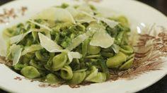 Eén - Dagelijkse kost - pasta met snijbonen, courgette en salsa verde