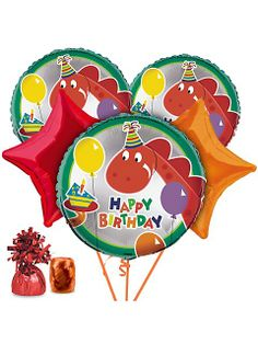 DINOSAUR BIRTHDAY BALLOON KIT
