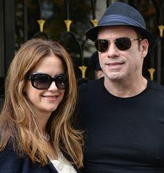 John Travolta and Kelly Preston Take a Romantic Stroll in Paris