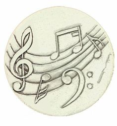 """Super Absorbent Stoneware Drink Coasters - Music - Set of 4 by McCarter Coasters. $24.99. Stoneware Drink Coasters (4.25"""" Diameter) - Set of 4. Accent Any Décor. Color: Natural. Music Style Imprint. Original Art Designs By Shanye McCarter. Absorbs Water And Other Liquids. Dishwasher Safe. McCarter Coasters proudly offers limited edition absorbent clay coasters created by Shayne McCarter. The porous nature of the clay naturally absorbs moisture, and the natural cork backing ..."""