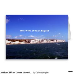 White Cliffs of Dover, United Kingdom Greeting Card (sold - UK) Thank you!