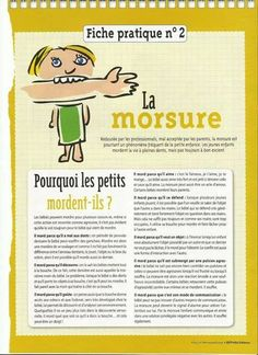 Pourquoi les enfants mordent ? Education Positive, Kids Education, Baby Information, Home Schooling, Learn French, Children And Family, Teaching Tools, Social Skills, Kids And Parenting