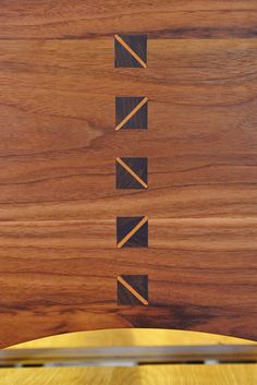 wedged mortise and tenon - Google Search
