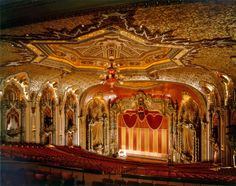 Ohio Theater Columbus I love to watch touring Broadway productions and of course Ballet Met's Nutcracker here
