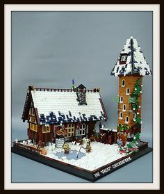 14 best lego winter village ideas images lego christmas lego rh pinterest com