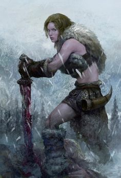 Warrior woman More