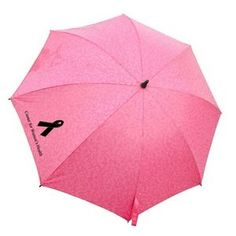 Pink Ribbon Umbrella - Breast Cancer - Customize