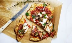 Tomato-Basil-Ricotta Pizza (Paid Post by Chobani From NYTimes.com)