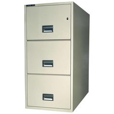 3 Door Metal Filing Cabinet