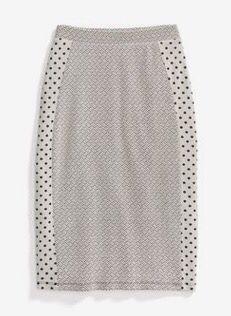 Work polka dot pencil skirt. Stitch fix inspiration July 2016. Try stitch fix…