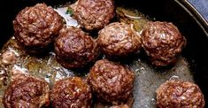 Hold On To Your Meatballs! These Are Delicious! Meatballs the way they should be done.