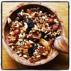 Homemade Hemp Seed Granola #homemade #hempseeds #granola #onceagain via @sgs_stuff