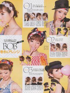 Peinados Japoneses