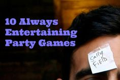 10 Always Entertaining Party Games | Apartment Therapy