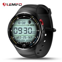 """LEMFO LES1 Android 5.1 Wrist Smart Watch MTK6580 1.39"""" OLED Display 3G WIFI SIM 1G+16G Bluetooth SmartWatch for Android Phone #Affiliate"""