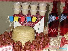 mesa rustica para festa junina - Pesquisa Google