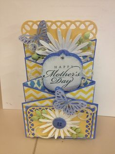 Cascading Card for Mother's Day by CarmCo - Cards and Paper Crafts at Splitcoaststampers