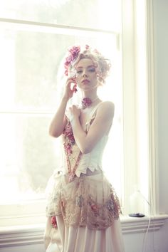 Danniellajaine - Alice From The Palace. Fruit Salad Me. Jan Knibbs. Haute Couture. Wearable art. flower child. bohemian.