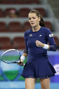 """10/10/15 Via #WTAScores  ·   With her loss today [in the SFs of the #ChinaOpen] Agnieszka Radwanska will have to reach Tianjing QF's to qualify for the #WTAFinals.  AGA:  """"I'm still chasing Singapore,"""" the former World No.2 said. """"So Tianjin, and Moscow, as well."""""""