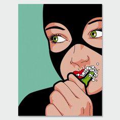 Incluso los super-héroes limpian sus dientes