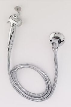 Hand-held bidet spray is easy to install, easy to use, and costs under $100.