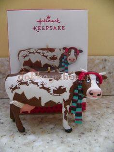 Hallmark 2013 MY Kind OF COW Town Kansas City Exclusive Christmas Ornament | eBay