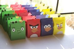 Angry birds birthday ideas  thought of a couple of co-workers when I saw this!