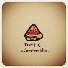 Turtle Watermelon #turtleadayjuly   Use Instagram online! Websta is the Best Instagram Web Viewer!