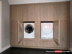 Mijn vergaarbak van leuke ideeën die ik wil toepassen in mijn huis. - wegwerken van de wasmachine