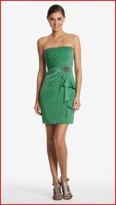 ef5f33bc73 BCBG MAXAZRIA Strapless Dress Larre Kelly Green Size 10 Lulu