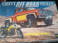 Revell Chevy Off Road Pickup  box art