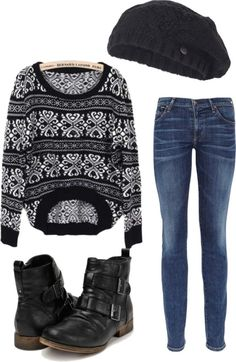 Comfy Fall Outfit by shadowcat-368 on Polyvore
