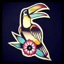 """Résultat de recherche d'images pour """"tattoo toucan parrot"""""""