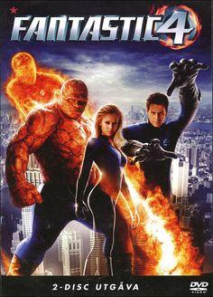 Svensk DVD-utgåva av Fantastic Four