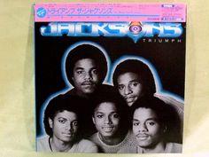 CD/Japan- JACKSONS Triumph +3 bonus trx w/OBI RARE MINI-LP Michael Jackson #FunkMotownSoul
