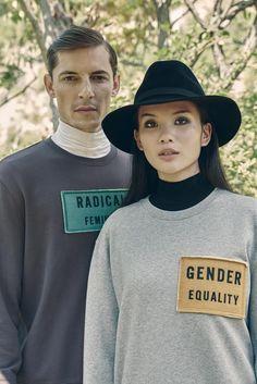 Acne Studios Casey Patch Sweatshirt (Grey Melange)